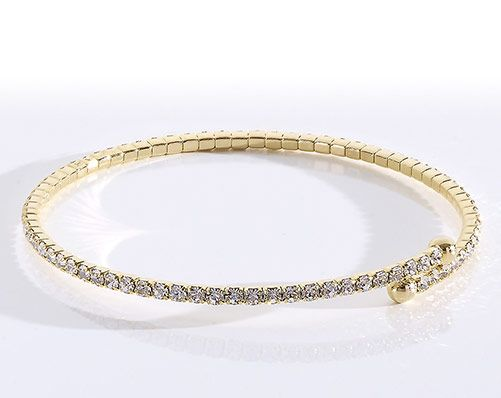 Rose Gold Sparkle Bracelet These thin crystal bangles are perfect for all size wrists and brings a sparkle to any outfit. There are no clasps which makes them easy to wear. The bangle comes in rose gold colour, gold colour and silver colour. Buy KLife products online at http://www.klife.co.uk/traceyhocking