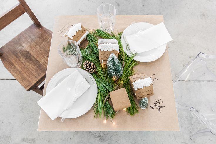 Christmas Kids' Table - VALÉRIE DE L'ÉTOILE INTERIOR DESIGNER
