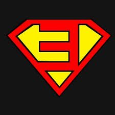 Eminem superman logo E