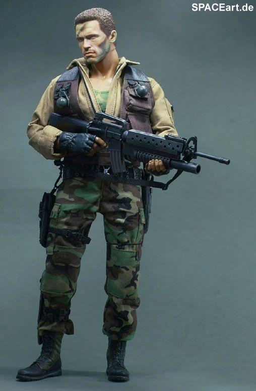 Predator 1: Major Alan Dutch Schaefer, Fertig-Modell, http://spaceart.de/produkte/pr005.php