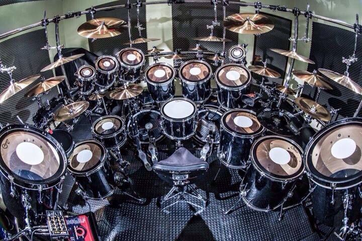 Massive Drum Set Drums Pinterest What S The The O