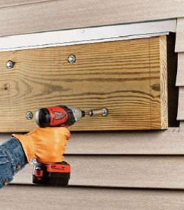 How to attach a deck ledger to your home.