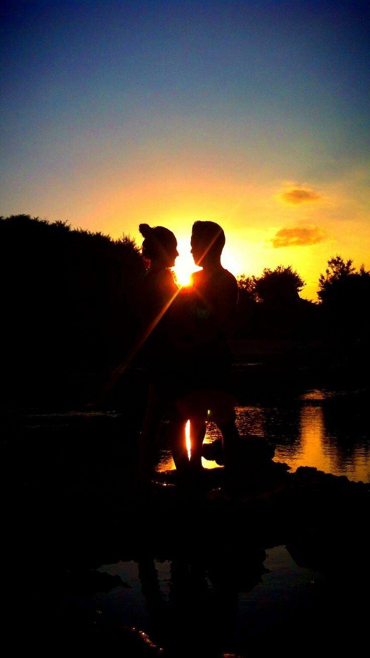 Couple Sunset #sunset #couple #prewedding #concept #iphoneography