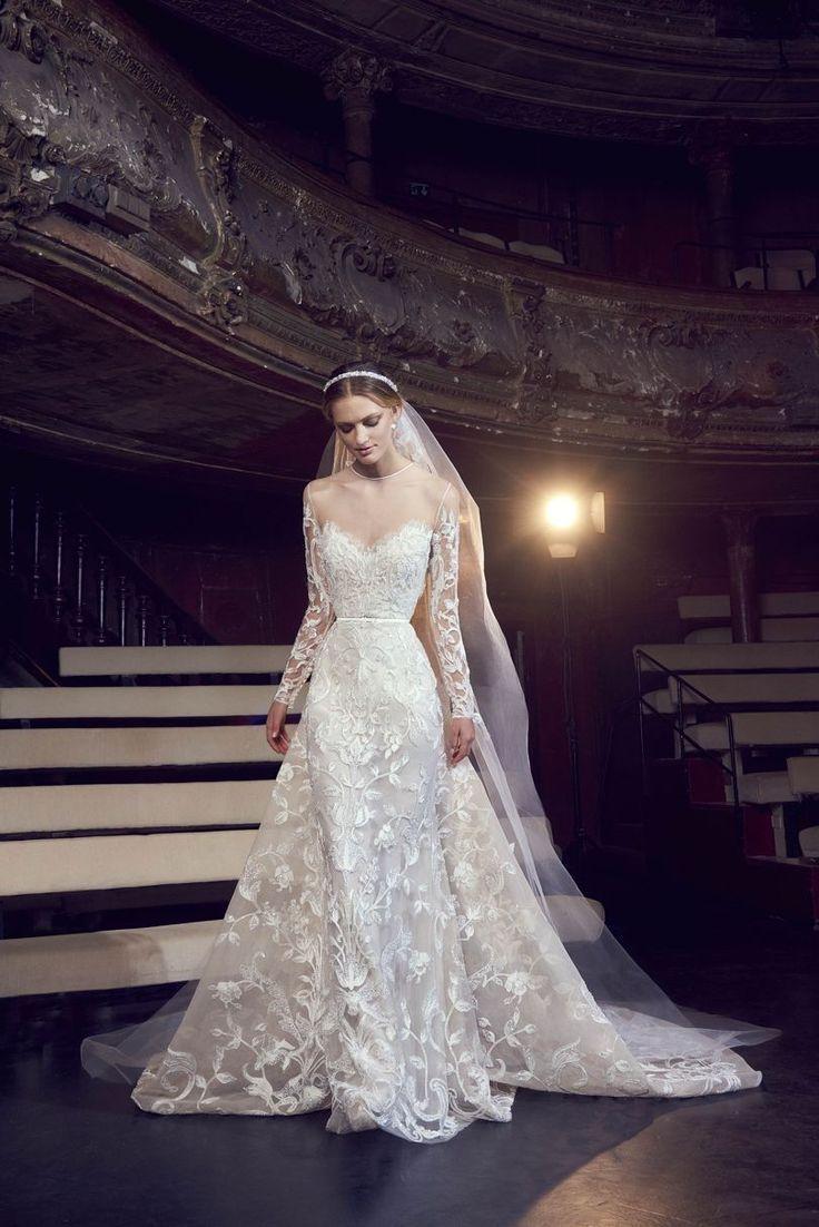 Elie Saab Bridal 2018 In 2020 Bridal Dresses Bridal Dress Fashion Elie Saab Wedding Dress
