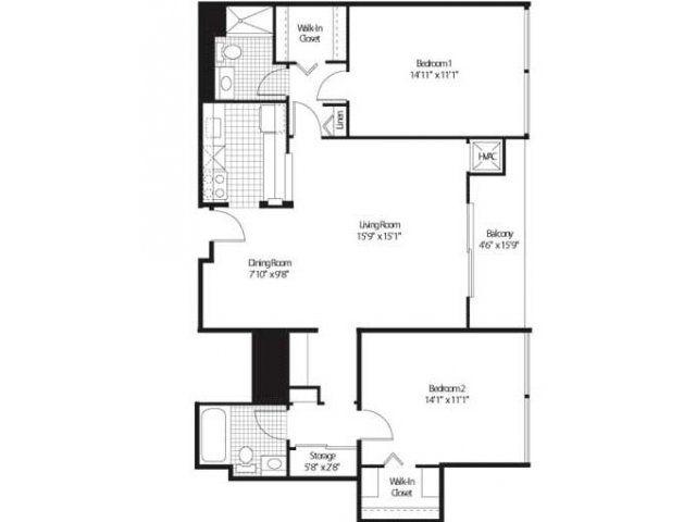 9 Best Detroit City Apartments Floor Plans Images On Pinterest Apartment Floor Plans
