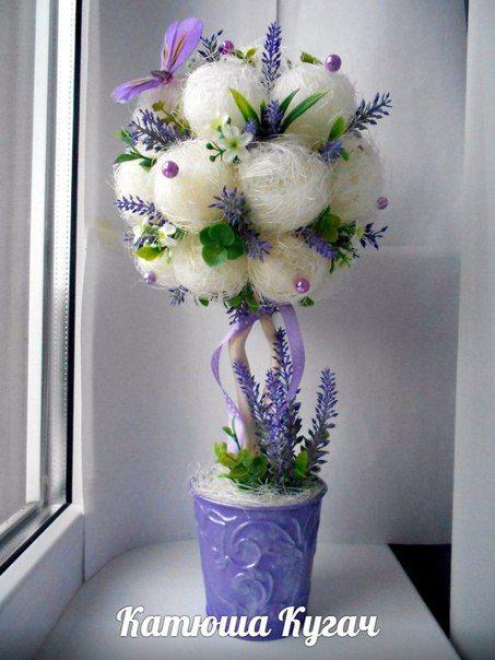 Цветочные топиарии)