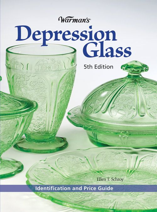 warman's depression glass fifth edition~~one of the better books~