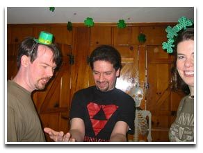 St Patrick's Day games, including fun drinking games for St Patrick's Day, kids games, and other St Patrick's Day party games.