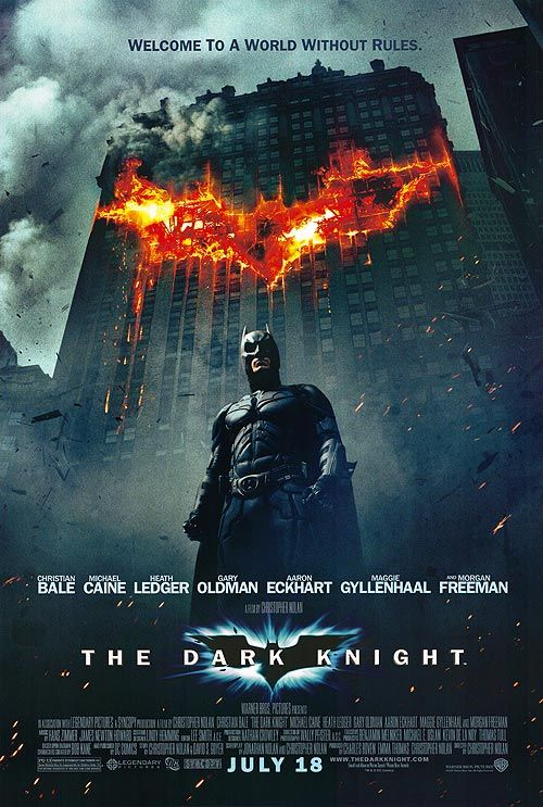 The Dark Knight - Batman #DC #poster