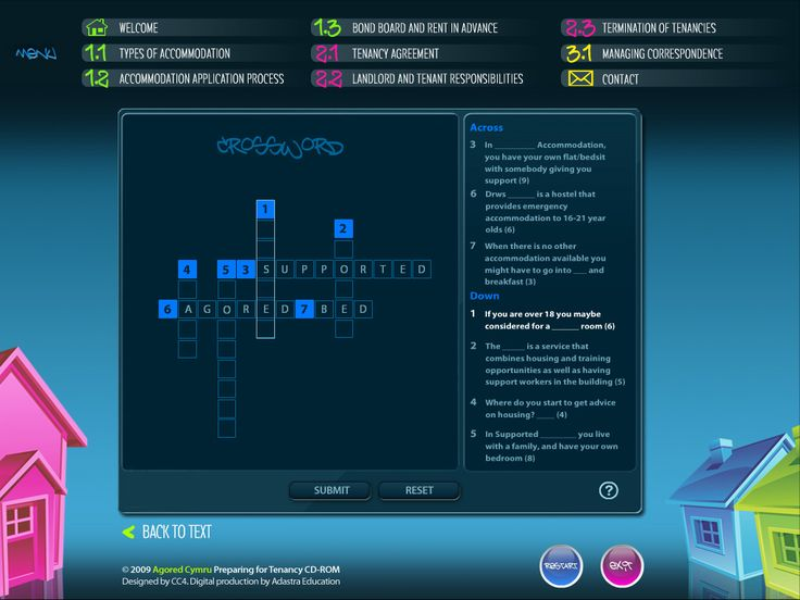 Educational Interactive crossword activity created by Genieseye