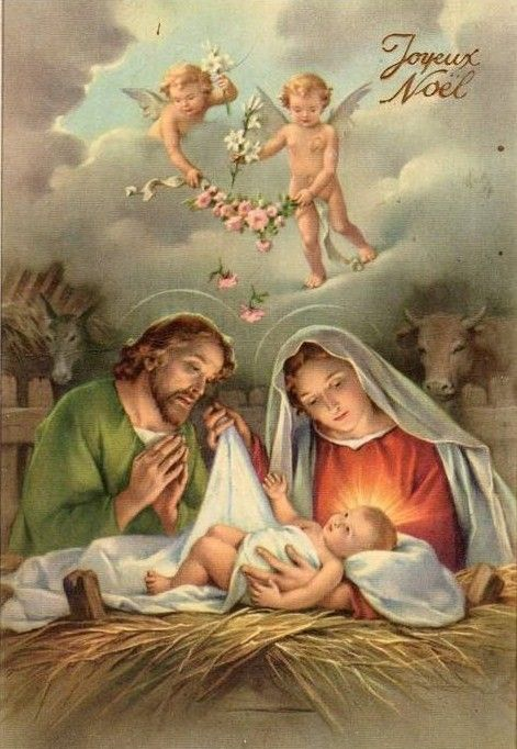 La Nativité! Sweet baby Jesus! .❤️Aline
