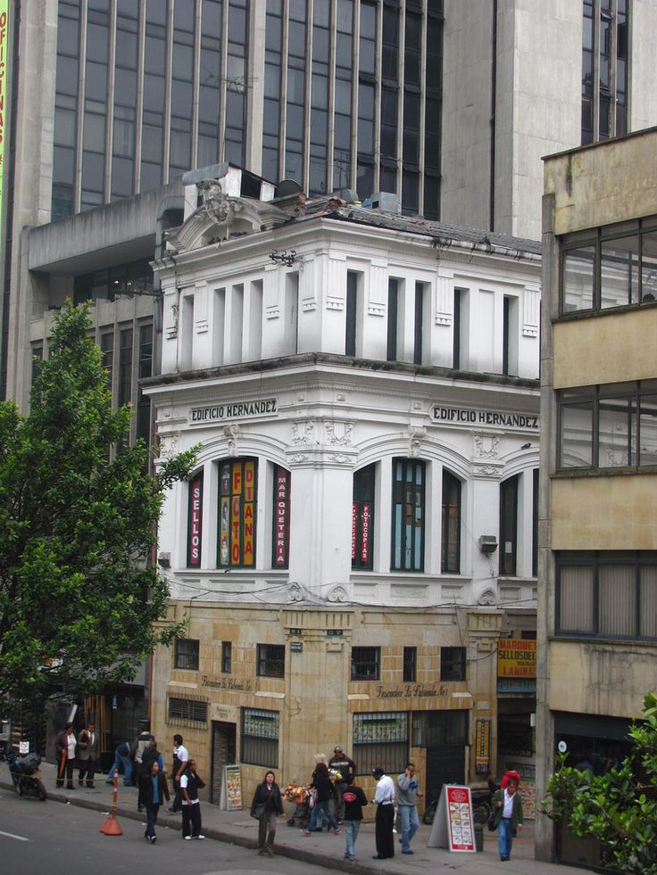 BOGOTÁ edificio Pasaje Hernandez