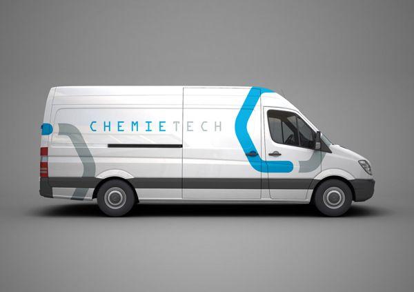 Chemical Supplier - Branding by Erfan Talimi , via Behance