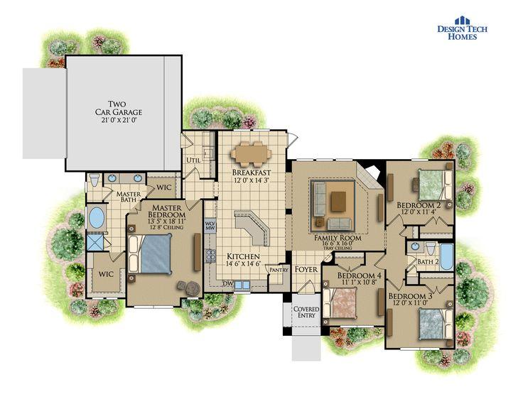 17576 Best Planos Images On Pinterest Floor Plans Architecture