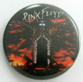 Pink Floyd - 'Planes and Hammers' 32mm Badge