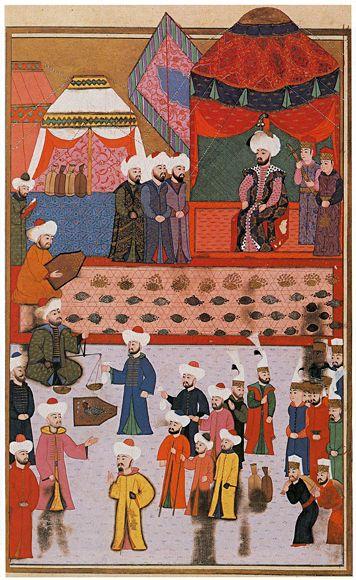 Hünernâme (?) (16th Century CE (?) Islamic Ottoman Miniature Painting) -Seyyid Lokman (?)