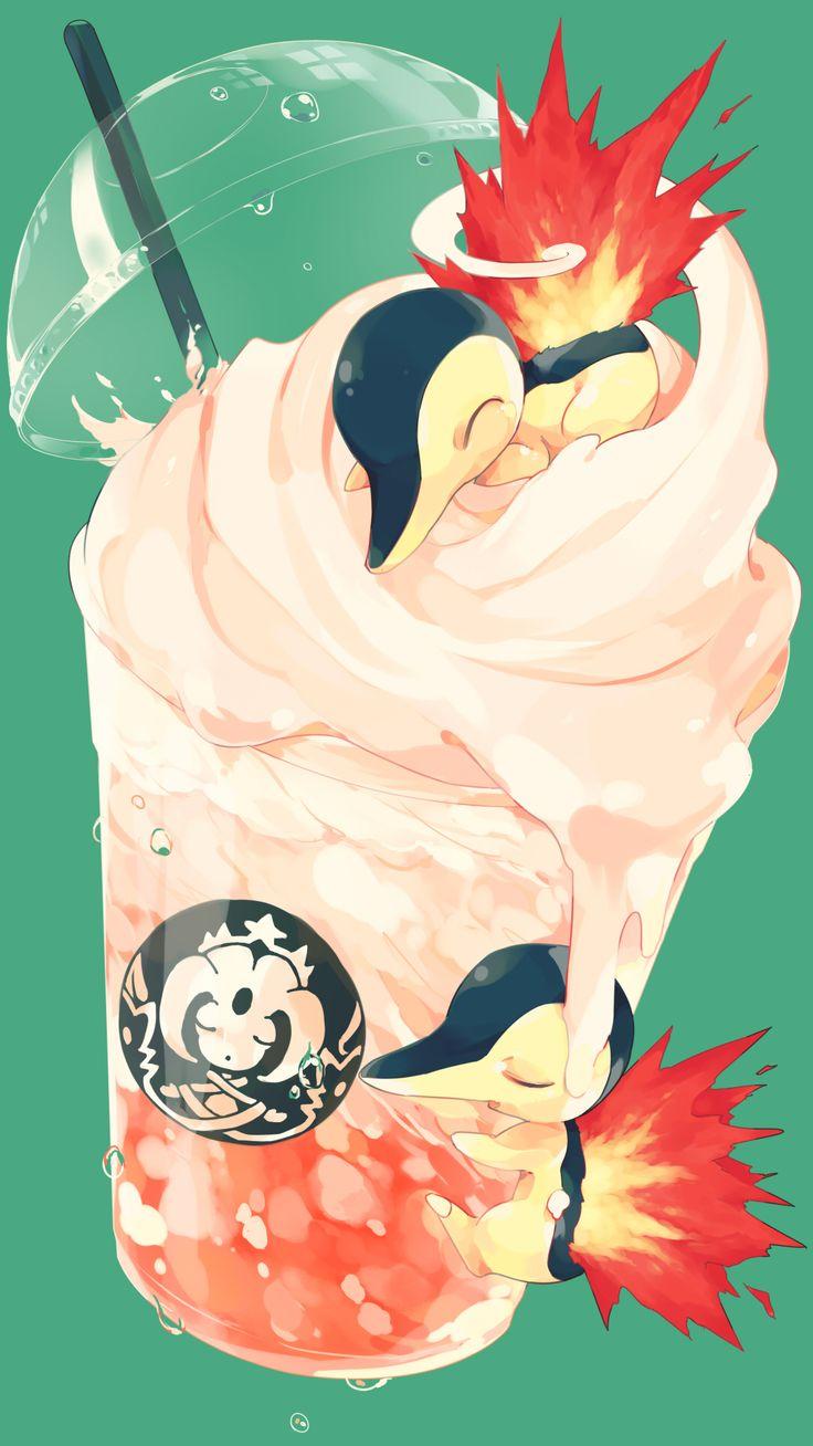 Cyndaquil - pokemon via pixiv