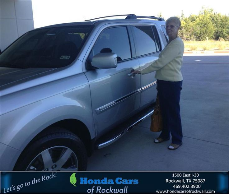 #HappyBirthday to Mary Fisk from Lou Brockman at Honda Cars of Rockwall!
