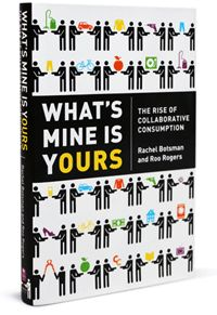 Read this twice. Interesting to see how my head has changed about collaborative stuff in 18 months. If you can't be bothered to read it watch Rachel Botsman on TED and Wired 2011.