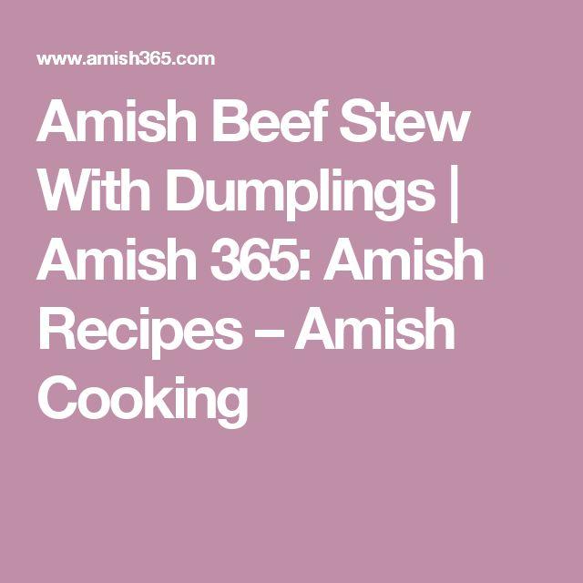 17 Best ideas about Beef Stew With Dumplings on Pinterest ...