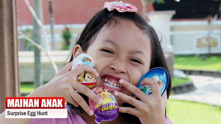 Surprise Egg Hunt ♥ Disney Tsum Tsum, Frozen dan Princess - Dapat Mainan...