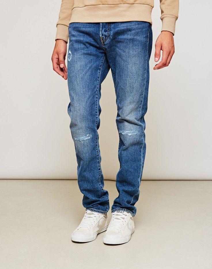 Edwin ED-80 Slim Tapered Jeans Deep Blue Denim Broken Wash £99 - NOW £50 that's 50% off!! | SHOP BLACK FRIDAY NOW