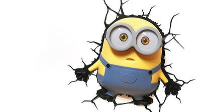 Minion 3D Deco Light - Bob