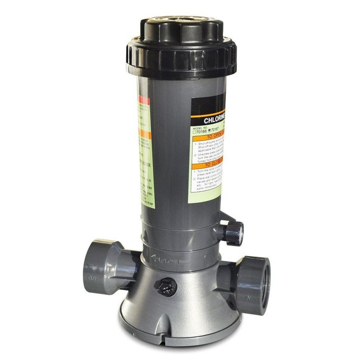 Automatic Above Ground Pool Chlorine Feeder