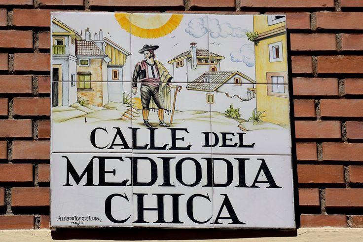Calle Del Mediodia Chica (Madrid) - 1