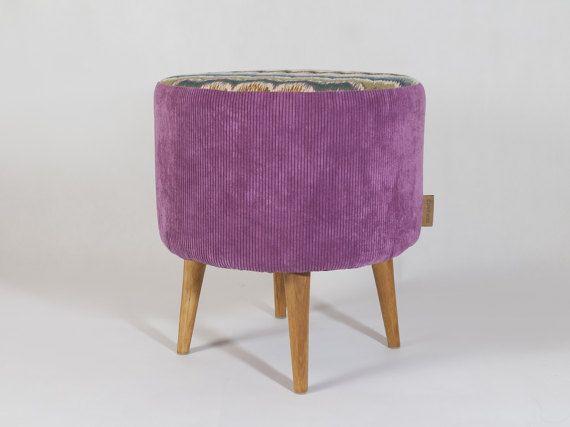 BOHO Unique original set pouf footstool ottoman and