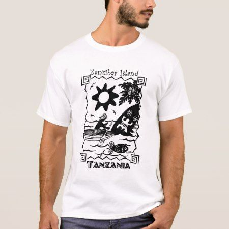 Zanzibar Island T-Shirt - tap to personalize and get yours