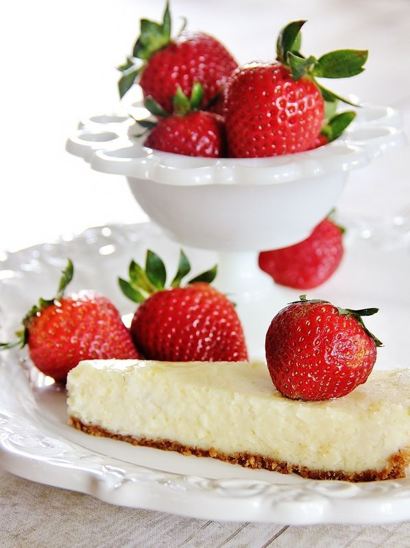 Lemon Cheesecake With A Graham Cracker Crust Recipes — Dishmaps