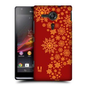 Amazon.com: Head Case Designs Burst Snowflakes Art Back Case Cover For Sony Xperia Sp C5303: Cell Phones & Accessories