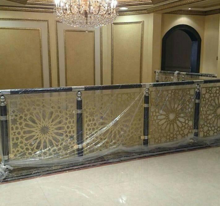 Saudiarabia Riyadh Doors Gates Design Cnc Lifestyle Modern Cadd Beautiful Metaldoor Lasercut ابواب Stairs Design Iron Stair Railing Stair Railing