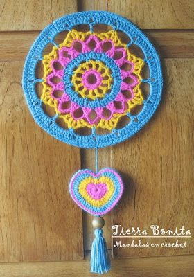 Tierra Bonita: Mandalas en Crochet - Tierra Bonita