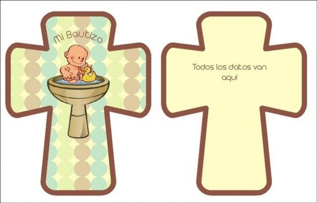 Invitaciones bautizo: fotos ideas para imprimir