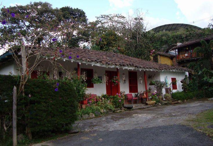 Casa campesina en Santa Elena, Medellín, Colombia