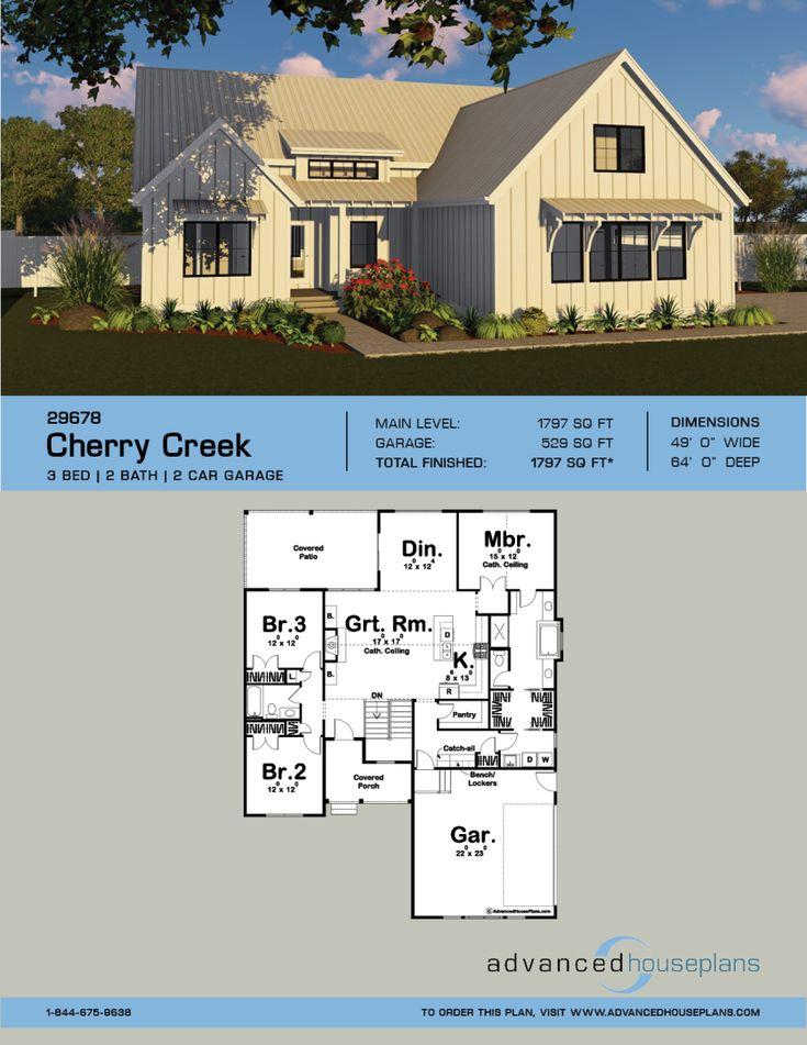 modern contemporary farmhouse plans