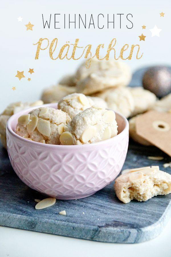 Weihnachtsbäckerei ganz ohne Stress: Mandel-Plätzchen mit Zimt. Viele weitere Ideen gibt es hier: http://www.spoonandkey.blogspot.de/