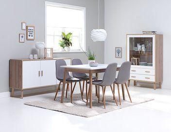 Pöytä GAMMELGAB P120 + 4 tammi JONSTRUP