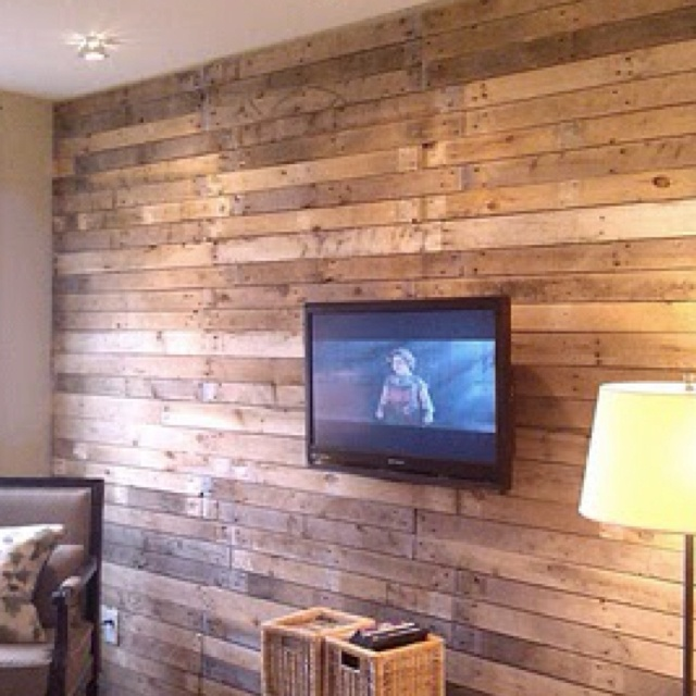 interesting wood pallet wall with wood pallet wall - Wood Pallet Wall