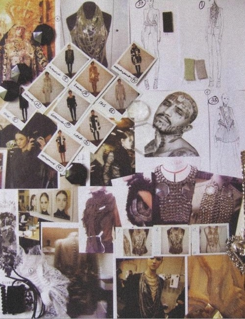 Assembling digital mood board. Next step: physical mood board.