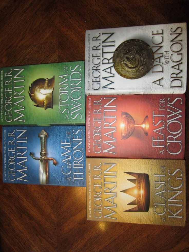 Game of Thrones - read it then watch it.