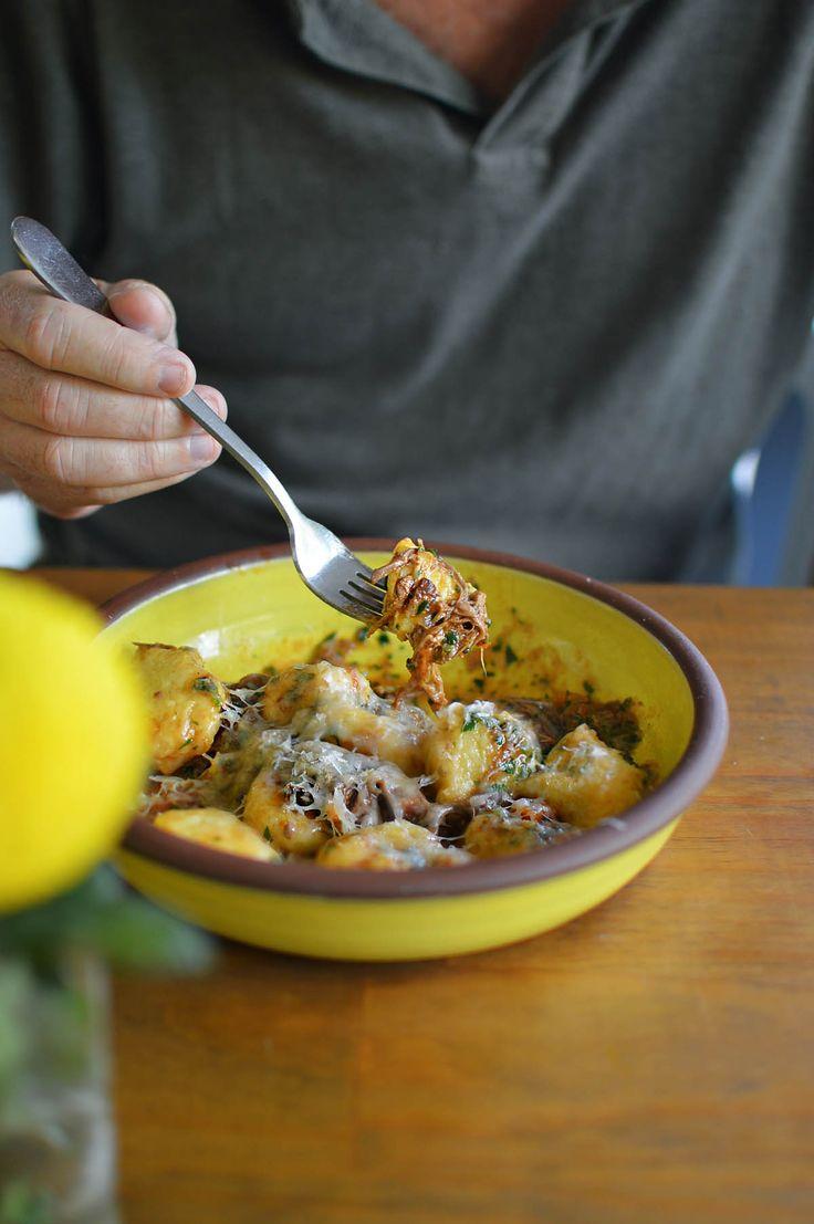 Potato gnocchi with duck & wild hare ragu - Bombini Restaurant & Bar, Avoca - by heneedsfood.com