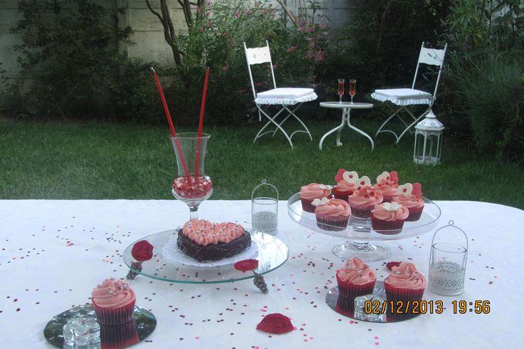 Mesa para San Valentín