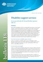 Disability publications - Australian Institute of Health and Welfare