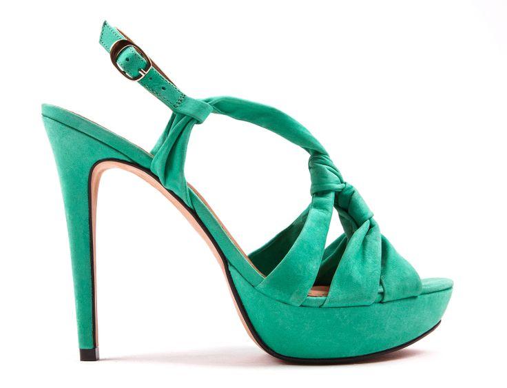 Green Sandals www.zilian.com