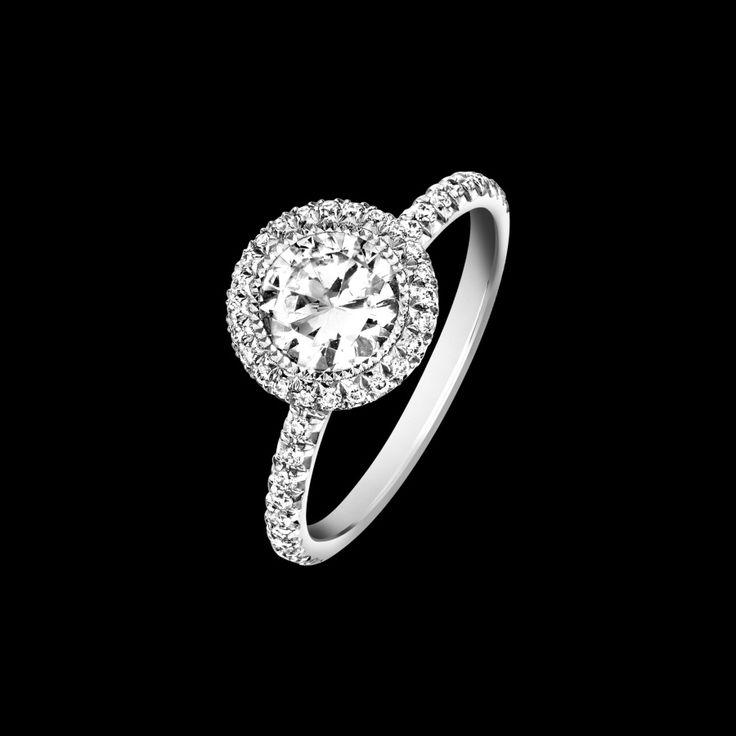 Piaget Passion Engagement Ring, Price upon request; piaget.com   - ELLE.com