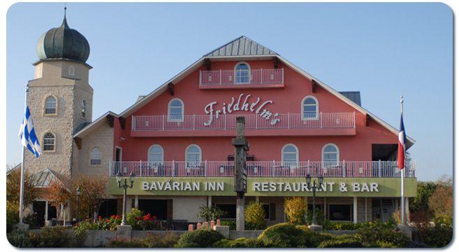 Friedhelm's Bavarian Inn Restaurant Bed Breakfast Fredericksburg TX