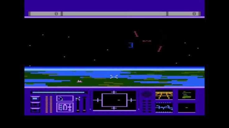 Last Starfighter Intro Atari 800